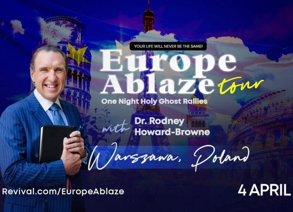 EuropeAblaze 2019 – Spotkanie z Pastorem Rodneyem Howardem-Brownem